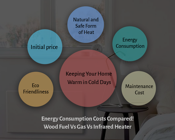 Comparison of the Cost of Energy Consumption - Wood Fuel Vs Gas Vs Infrared Heater