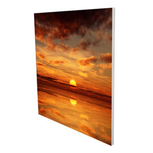 Aluminium Printed Panel Heater 350W - Sunset
