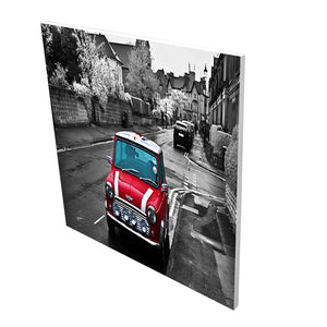 Aluminium Printed Panel Heater 350W - Red Car