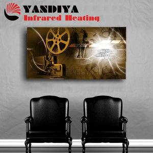 Aluminium Printed Panel Heater 800W - Movie Projector