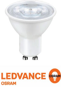 OSRAM LEDVANCE | Osram Ledvance GU10 4W Led Value Par16 230v 6500k 350lm Non-Dimmable | LED GU10