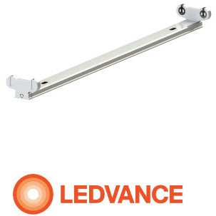 OSRAM LEDVANCE | Osram Ledvance Open Channel 2 X 4ft Fitting  Wired For Led | OPEN CHANNEL FITTING