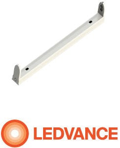 OSRAM LEDVANCE | Osram Ledvance Open Channel 1 X 4ft Fitting  Wired For Led | OPEN CHANNEL FITTING