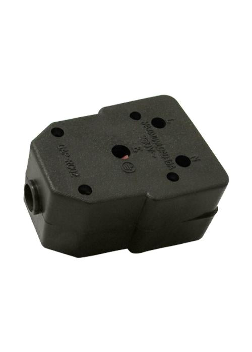 LEDCC | Genuine Rubber Double Janus Coupler Black