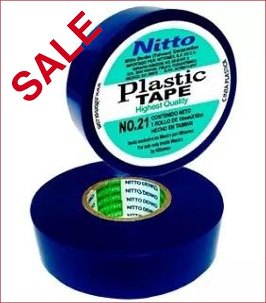 NITTO | Nitto 21 Insulation Tape Blue 20m X 18mm - EAP2010 | NITTO 21