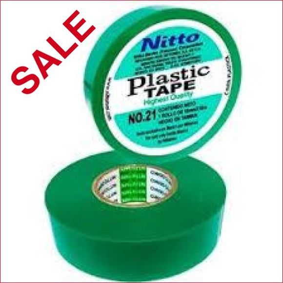 NITTO | Nitto 21 Insulation Tape Green 20m X 18mm - EAP2020 | NITTO 21