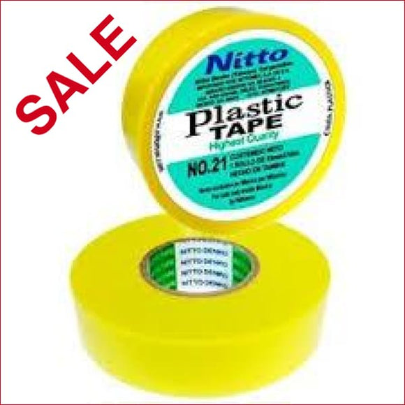 NITTO | Nitto 21 Insulation Tape Yellow 20m X 18mm - EAP2100