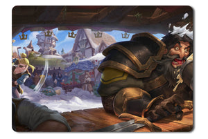 Mouse pad  Game Albion Online 03- 21.5 X 27 X 0.3cm