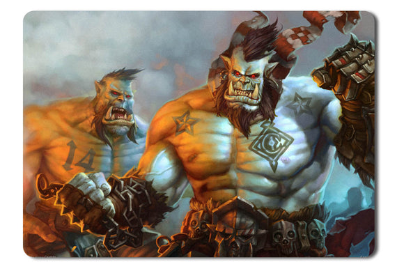 Mouse pad  Game Allods Online 02- 21.5 X 27 X 0.3cm