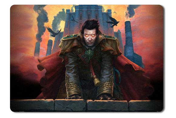 Mouse pad  Game Allods Online 06- 21.5 X 27 X 0.3cm