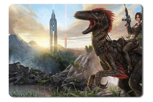 Mouse pad  Game Ark Survival Evolved 01- 21.5 X 27 X 0.3cm