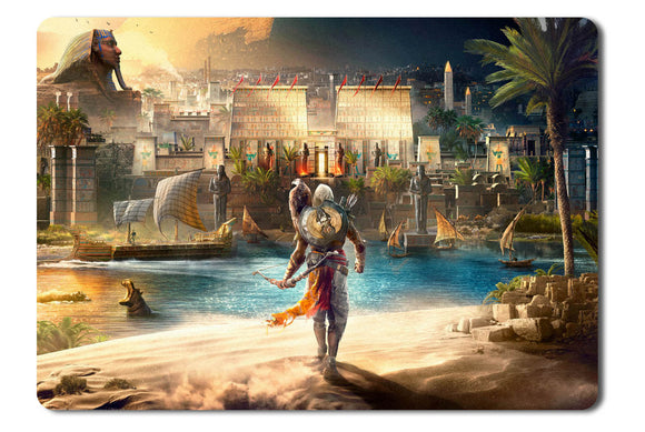 Mouse pad  Game Assassins Creed Origins 01- 21.5 X 27 X 0.3cm