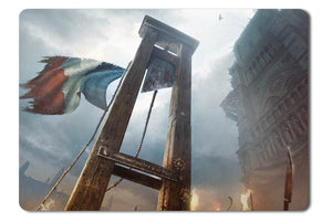Mouse pad  Game Assassins Creed Unity 01- 21.5 X 27 X 0.3cm