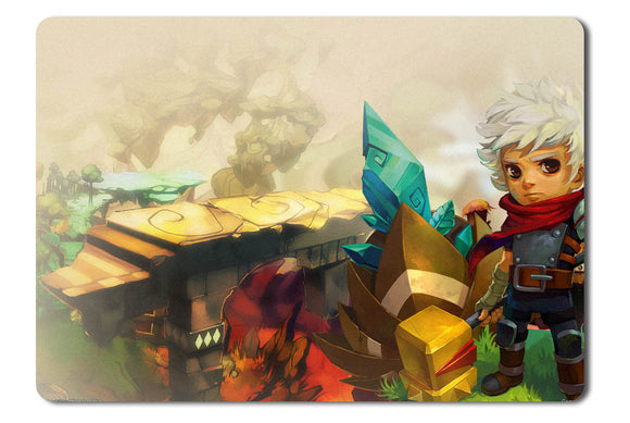 Mouse pad  Game Bastion 01- 21.5 X 27 X 0.3cm