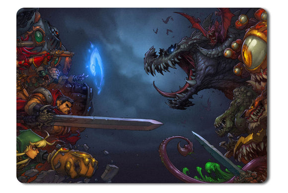 Mouse pad  Game Battle Chasers   Nightwar 01- 21.5 X 27 X 0.3cm