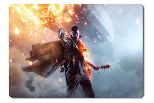 Mouse pad  Game Battlefield 1 01- 21.5 X 27 X 0.3cm