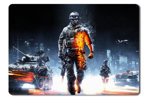 Mouse pad  Game Battlefield 3 01- 21.5 X 27 X 0.3cm
