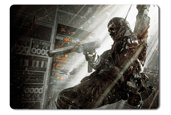 Mouse pad  Game Call Of Duty Black Ops 01- 21.5 X 27 X 0.3cm