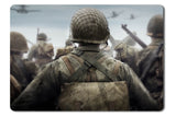 Mouse pad  Game Call Of Duty Ww2 01- 21.5 X 27 X 0.3cm