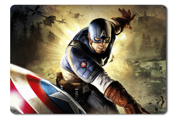 Mouse pad  Game Captain America Super Soldier 01- 21.5 X 27 X 0.3cm