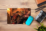 Mouse pad  Game Castlevania Lords Of Shadow 04- 21.5 X 27 X 0.3cm