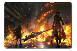 Mouse pad  Game Code Vein 01- 21.5 X 27 X 0.3cm