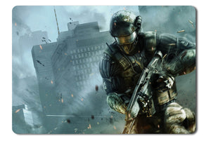 Mouse pad  Game Crysis 2 08- 21.5 X 27 X 0.3cm