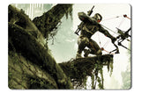 Mouse pad  Game Crysis 3 01- 21.5 X 27 X 0.3cm