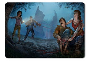 Mouse pad  Game Dead By Daylight 01- 21.5 X 27 X 0.3cm