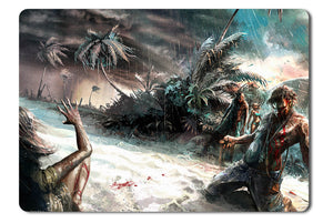 Mouse pad  Game Dead Island 05- 21.5 X 27 X 0.3cm