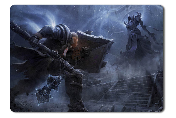 Mouse pad  Game Diablo 3 Reaper Of Souls Fan Art 01- 21.5 X 27 X 0.3cm