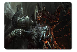 Mouse pad  Game Diablo 3 Reaper Of Souls Fan Art 02- 21.5 X 27 X 0.3cm