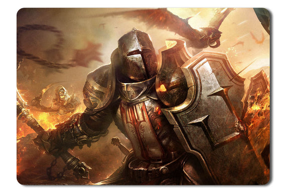 Mouse pad  Game Diablo 3 Reaper Of Souls Fan Art 07- 21.5 X 27 X 0.3cm