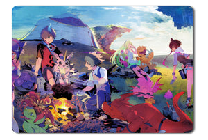 Mouse pad  Game Digimon World Next Order 01- 21.5 X 27 X 0.3cm