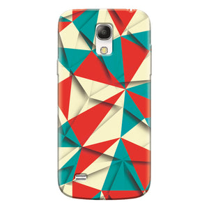 Husa silicon pentru Samsung Galaxy S4 Mini, Abstract Vector
