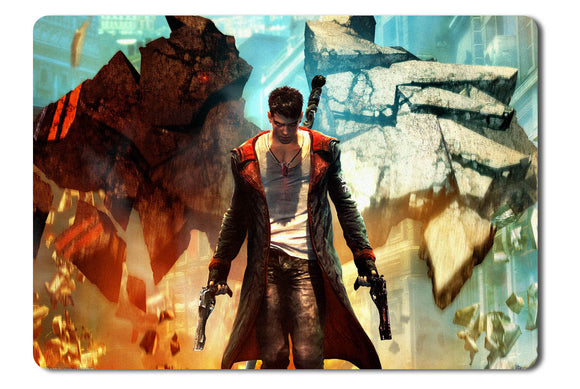 Mouse pad  Game Dmc Devil May Cry 01- 21.5 X 27 X 0.3cm