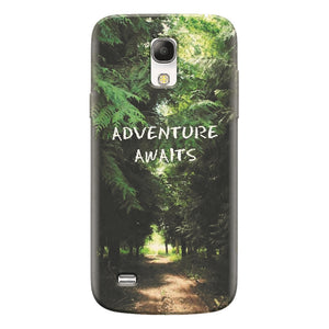 Husa silicon pentru Samsung Galaxy S4 Mini, Adventure Awaits Forest