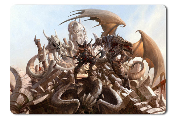 Mouse pad  Game Dragon Eternity 02- 21.5 X 27 X 0.3cm