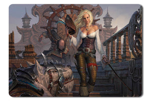 Mouse pad  Game Dragon Eternity 06- 21.5 X 27 X 0.3cm