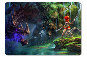 Mouse pad  Game Dragon Fin Soup 01- 21.5 X 27 X 0.3cm