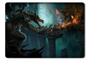 Mouse pad  Game Drakensang Online 02- 21.5 X 27 X 0.3cm