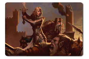 Mouse pad  Game Dungeons And Dragons Neverwinter 01- 21.5 X 27 X 0.3cm