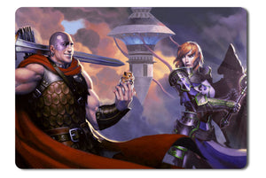 Mouse pad  Game Dungeons And Dragons Neverwinter 02- 21.5 X 27 X 0.3cm
