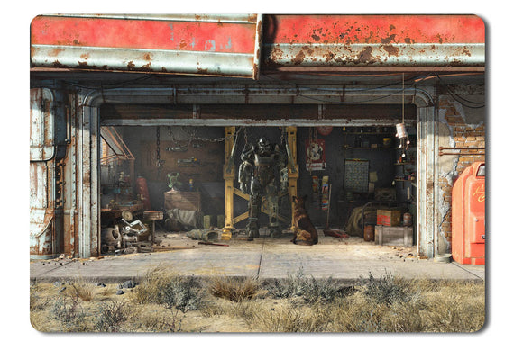Mouse pad  Game Fallout 4 01- 21.5 X 27 X 0.3cm