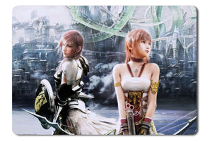 Mouse pad  Game Final Fantasy Xiii   2 01- 21.5 X 27 X 0.3cm