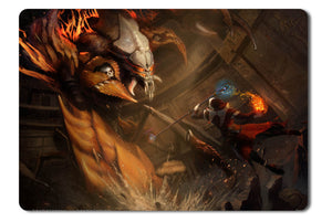 Mouse pad  Game Forsaken World Storms Of War 04- 21.5 X 27 X 0.3cm