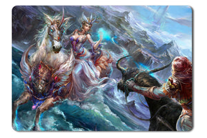 Mouse pad  Game Forsaken World Storms Of War 06- 21.5 X 27 X 0.3cm