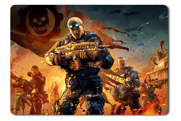 Mouse pad  Game Gears Of War Judgment 03- 21.5 X 27 X 0.3cm