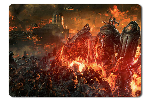 Mouse pad  Game Gears Of War Judgment 04- 21.5 X 27 X 0.3cm