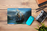 Mouse pad  Game God Of War 2017 03- 21.5 X 27 X 0.3cm